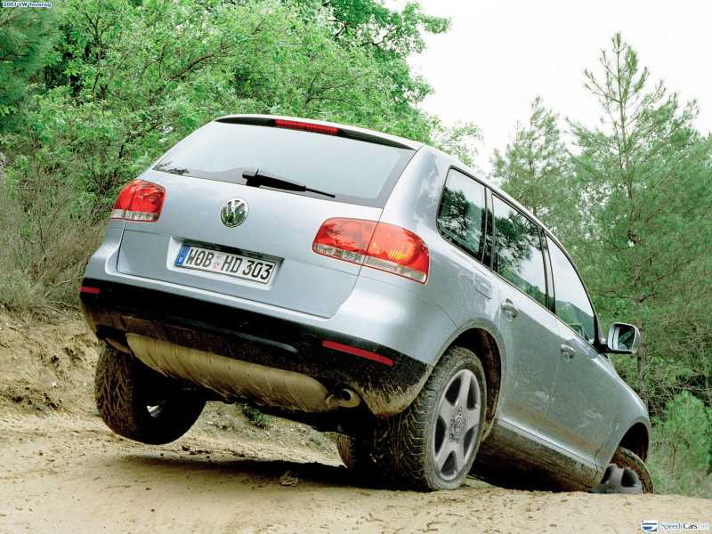 Volkswagen Touareg 3.2 2003 photo - 3